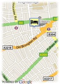 map-Hotel Grosvenor Kensington