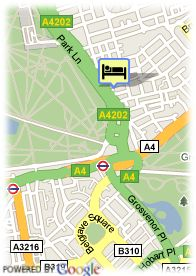 map-Hotel Park Lane Mews