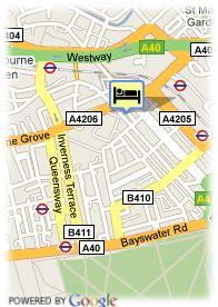map-Hotel Westbury Mayfair