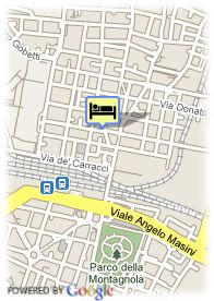 map-Hotel il Guercino