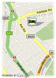 map-Hotel Kensington Rooms