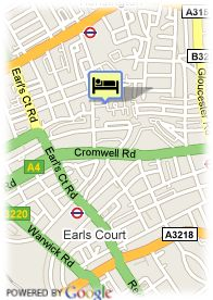 map-Hotel Park Inn London Russell Square
