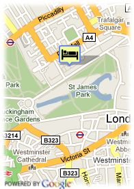 map-Hotel Hyde Park Executive Apartments