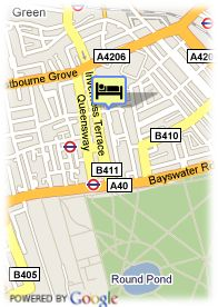 map-Hotel Days Hounslow
