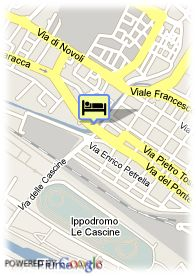 map-Hotel Golden Tulip Mirage