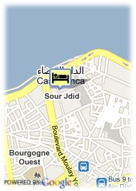 map-Hotel Club Val  d'Anfa
