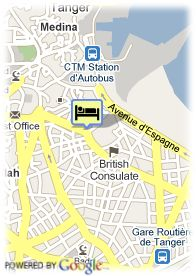 map-Hotel Rembrandt