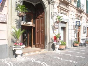 Hotel Cavour in Napels