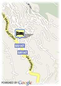 map-Roseo Hotel Assisi