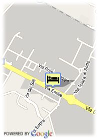 map-Eurogarden Hotel Bologna
