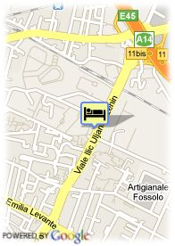 map-B4 Bologna Tower Hotel