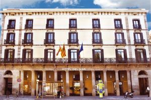 Goedkoop Hotel: Hotel Del Mar in Barcelona