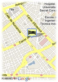 map-Hotel City Park Nicaragua