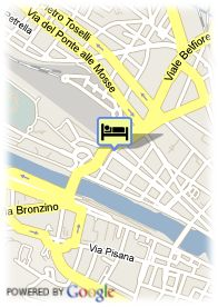 map-Starhotels Michelangelo