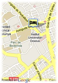 map-Hotel Princesa Sofia
