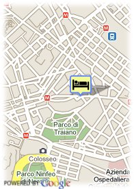 map-Hotel Tirreno