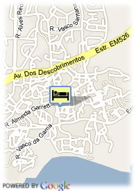 map-Hotel Da Aldeia