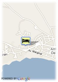 map-Hotel Vila Gale Nautico