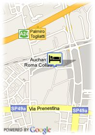 map-Hotel Express By H.I. Rome East