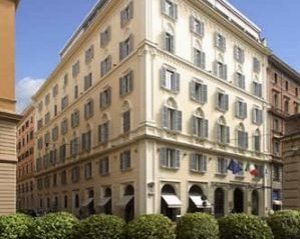 Romantisch Hotel Hotel Empire Palace in Rome
