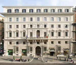 Hotel Eurostars international palace in Rome