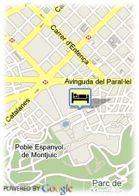 map-Hotel Fira Palace