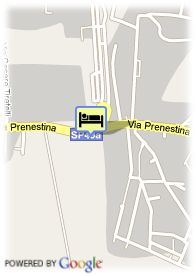 map-Hotel Eurostars Roma Congress