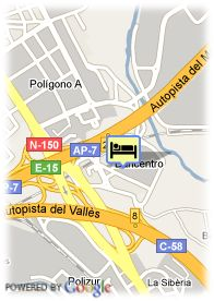 map-Hotel Campanile Barcelona Barbera