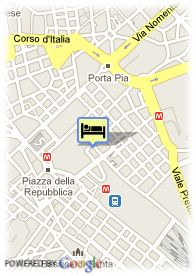 map-Hotel Diocleziano