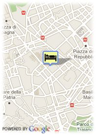 map-Hotel Artemide