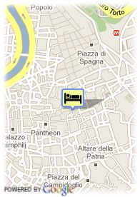 map-Hotel Piazza Venezia