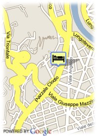 map-Hotel Clodio