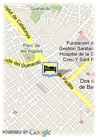 map-Hotel Confortel Bel Art