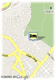 map-Hotel B4 Roma Borromini By Boscolo