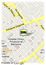 map-Hotel Evenia Rossello