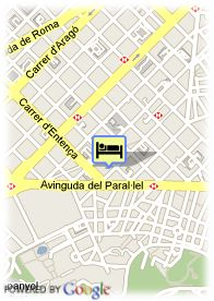 map-Hotel Evenia Rocafort