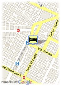 map-Hotel Dock Milano