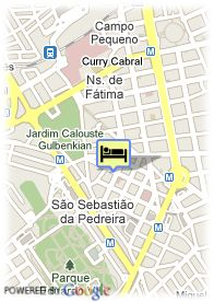 map-Hotel Real Parque