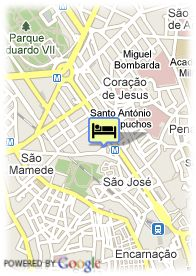 map-Hotel Tivoli Jardim