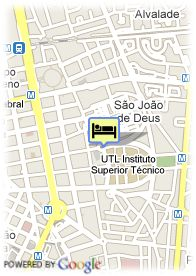 map-Hotel Holiday Inn Lisboa