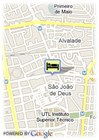 map-Hotel Residencial Estoril Lisboa