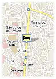 map-Hotel Travel Park