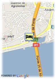 map-Hotel Vila Gale Opera