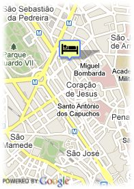 map-Hotel Suites Do Marques