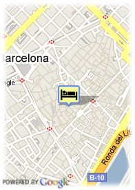 map-Hotel Neri H and R