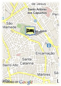 map-Hotel Principe Real
