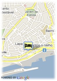 map-Hotel As Janelas Verdes