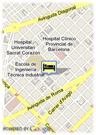 map-Hotel Zenit Borrell
