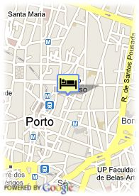 map-Hotel Dom Henrique