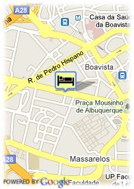 map-Hotel Quality Inn Portus Cale